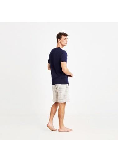 Nautica M131SORTTK.LACI Nautıca Erkek Lacivert Pijama Takımı Lacivert